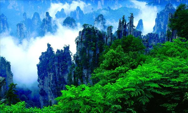 御笔峰-长沙到张家界旅游网